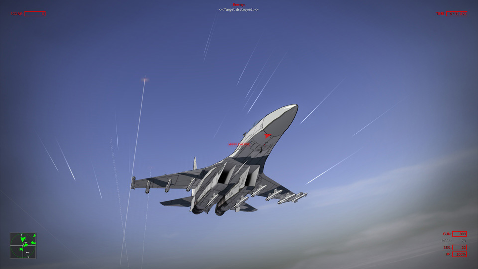 Vector Thrust Alpha